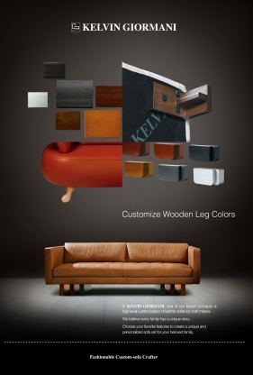 Choice of Different Wooden Leg Colors